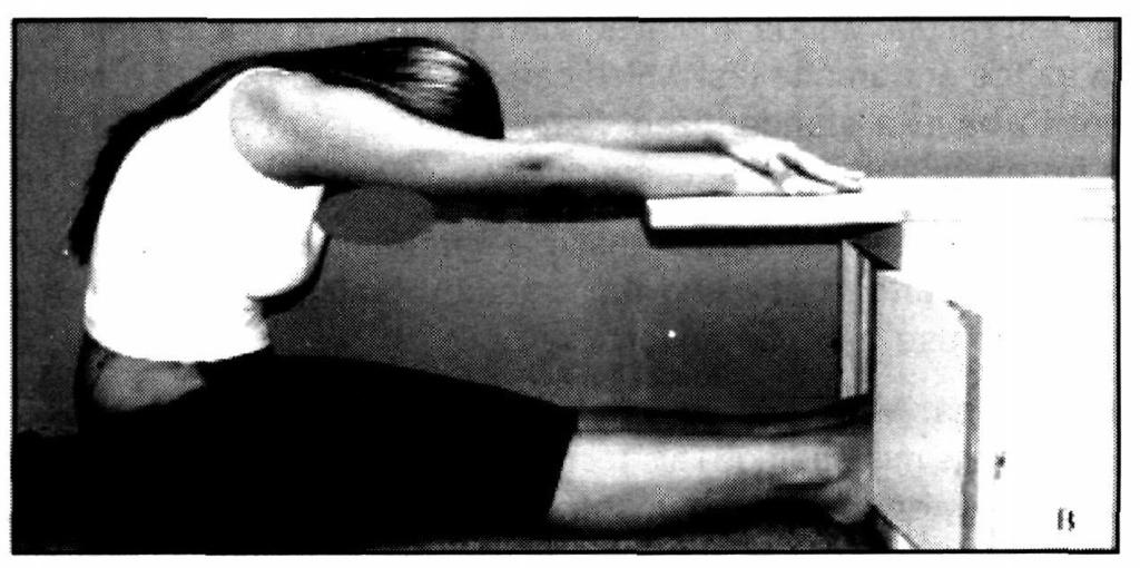 I. Sit and Reach Test: This test is used to measure the flexibility of the back and leg (hamstring muscle) It is a kind of absolute and linear test of flexibility.