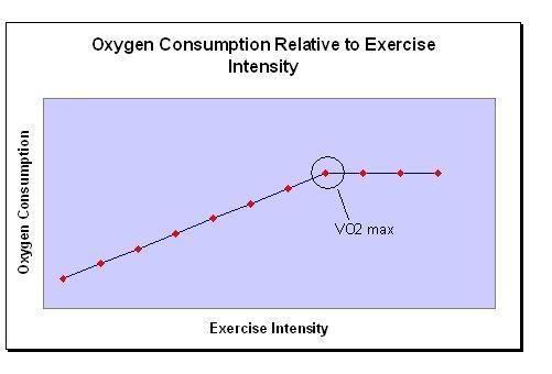 Exercise Physiology VO2max: maximum oxygen consumption (ml/kg/min) Is a measure of the body s ability to generate the ATP needed for physical