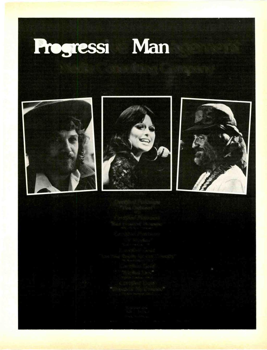 Plogressive Management Media Consulting Company Waylon Jennings Jessi Colter Certified