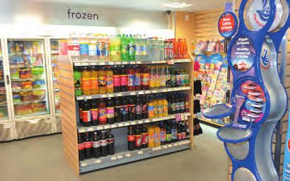 The remodelled Anvil a Booker Premier Store now offers more than 400 new lines in the bright and airy premises which really is a one stop shop with everything you could ever need for your grocery and