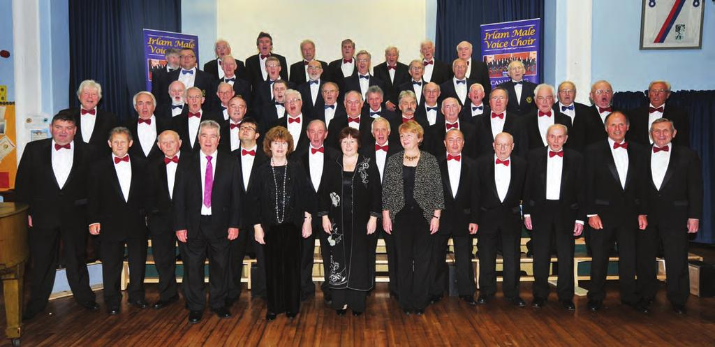 local stories welsh choir joins irlam male voice Irlam Male Voice Choir and their guests The Foel Male Voice Choir sang in Cadishead recently.