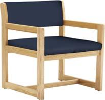 SPECIALTY CHAIRS Bariatric Arm Chair Each chair is shipped fully assembled ready for use.