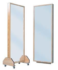 POSTURE MIRRORS Clinical Equipment Portable Single Mirror High quality full view glass mirror.