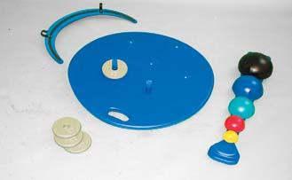 lower body rehabilitation. Set includes reversible board (1 side for left foot, 1 side for right foot), color-coded ball set. Accessories available separately.