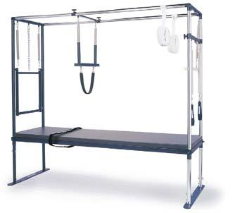 042105 Professional Reformer bundle includes Professional Reformer, Maple roll-up pole, Reformer Box, Padded Platform Extender, Essential Reformer DVD.
