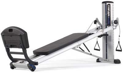 Total Gym GTS 041486 Total Gym -GTS Total Gym Powertower 26 calibrated resistance levels from 1% to 72% of body weight Motorized level adjustment.