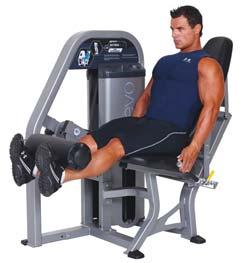 042327 S9LAT - Lat Pulldown Leg Extension Patent pending 240 lb. weight stack in 5 lb.