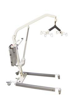 051056 ApexLift Hydraulic Patient Lift 051055 Compact construction for easy maneuvering, extended (6) point spreader bar for maximum patient comfort and foot operated leg opening.
