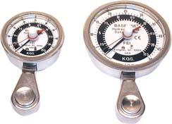 Baseline Hydraulic Pinch Gauge Accurate for all pinch tests-tip, key and palmer. Gauge has dual scale that shows pounds and kilograms. CE certified.