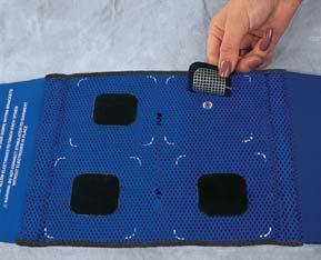 Ultrastim Garment & Pad Electrode System Convenient, One-Person Home Application Garment