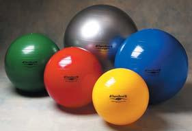 EXERCISE BALLS Thera-Band Exercise Balls Increase range of motion, strength and as well as active stretching, active exercise and aerobics Comes with two plugs and inflation adapter along with the