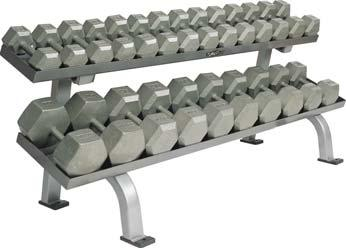 Hex Dumbbells And Rack Dumbbells 040256 3 lb. Dumbbells; Pair 040257 5 lb. Dumbbells; Pair 040258 8 lb. Dumbbells; Pair 040259 10 lb.