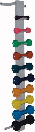 dumbbells with a backward lean. Height Width Depth Color 027205 49 3 1.5 Gray 027206 49 3 1.