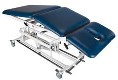 The center section is motorized to allow positioning with the patient s full weight on the table.