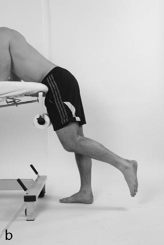 Treatment and Rehabilitation Catches Lying prone with the knee bent to 90 The athlete allows the lower limb to fall towards the floor, catching it by activating the hamstring muscles just before the