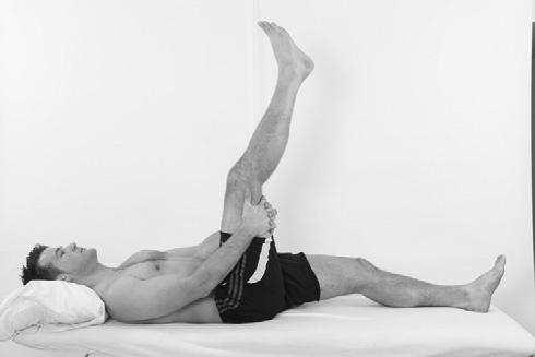 Case studies Fig 3.27 Hamstring stretches.