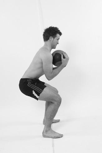 4pt kneeling (see Fig 3.26) Squats / sit to stand (Fig 3.