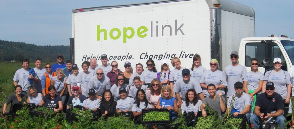 ORGANIZATION Hopelink relies on the work of extraordinarily talented, passionate and diverse staff, board and volunteers to carry out our mission, and we are committed to continuously striving for a